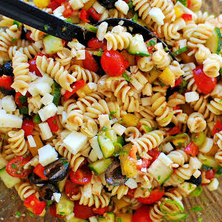 Cold Pasta Salad With Peppers And Onions Recipes.