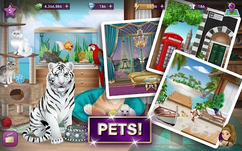 Hollywood Story Mod Apk Fashion Star 9.12.1 (Free Shopping) 9