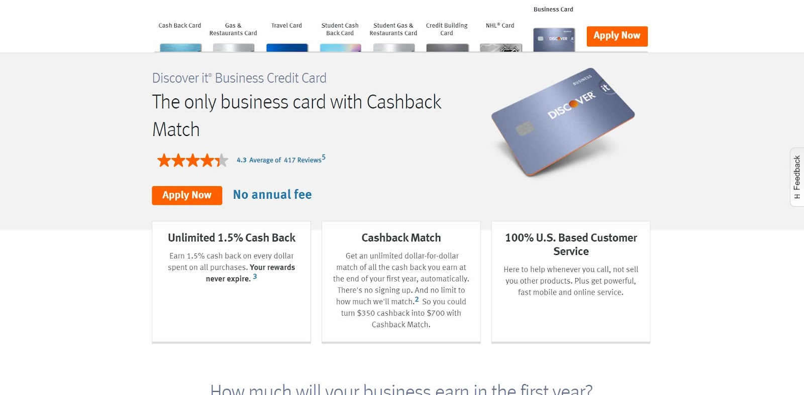 Dicover It Business Card: The Top 10 Business Credit Cards for Small Businesses