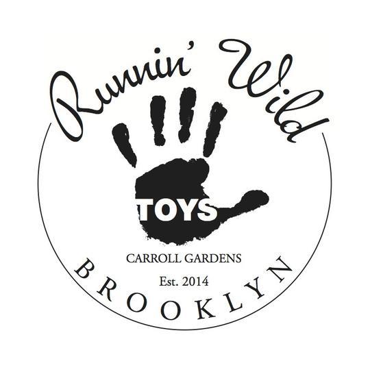 Runnin' Wild Toys Retailer Logo