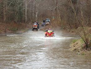 Photo: Sat, May 14/11 SBC ATV Day - Nanette and Bethany chuggin' along