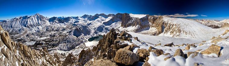 Photo: On the SW ridge of Mount Starr