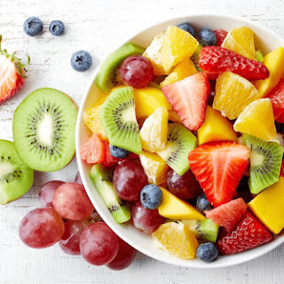 Rainbow Fruit Salad.