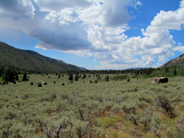 View south toward Joe's Valley