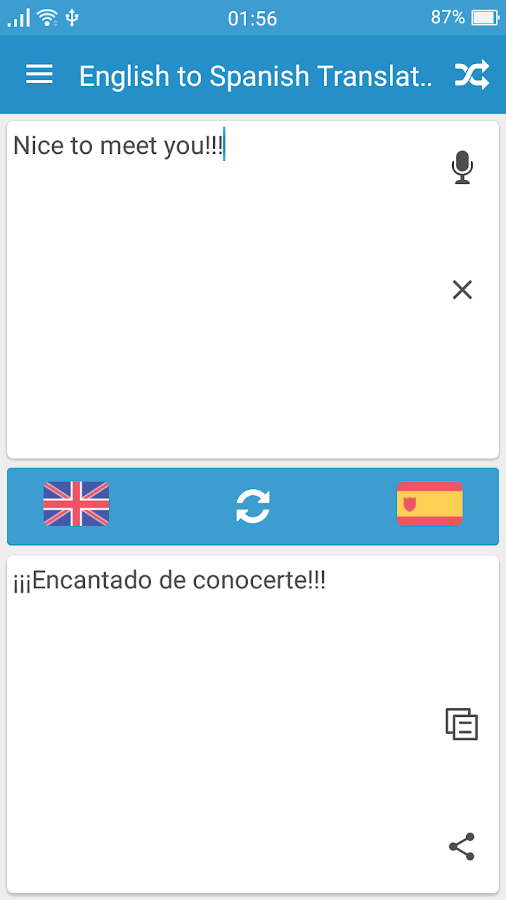 Translate My Document To Spanish English To Spanish Translator Android Apps On Google Play