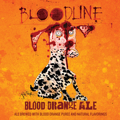 Logo of Flying Dog Bloodline Nitro