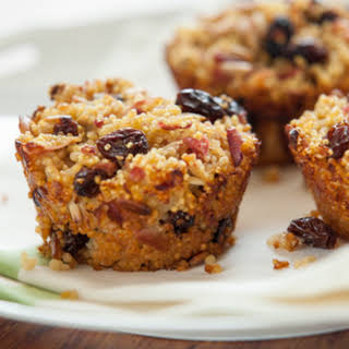 Baked Millet and Apple Breakfast Cakes.