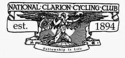 Photo: Logotipo del primer National Clarion CC (1984). Su lema es elocuente. «Fellowship is live»: el compañerismo es la vida.