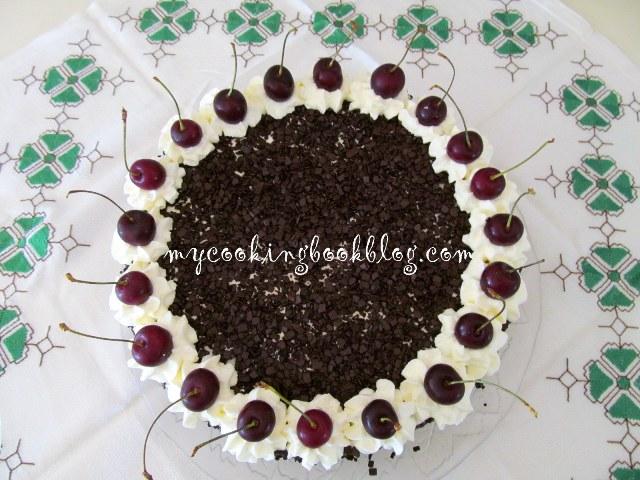 Торта черна гора (Black Forest Cake)