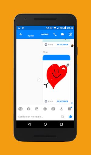 Paint for Whatsapp & Messenger 2.0 screenshots 4