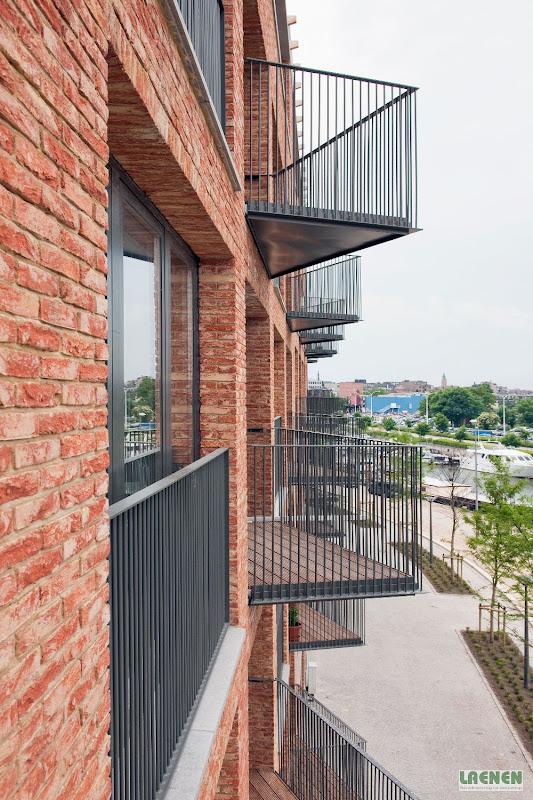Metalen terrassen