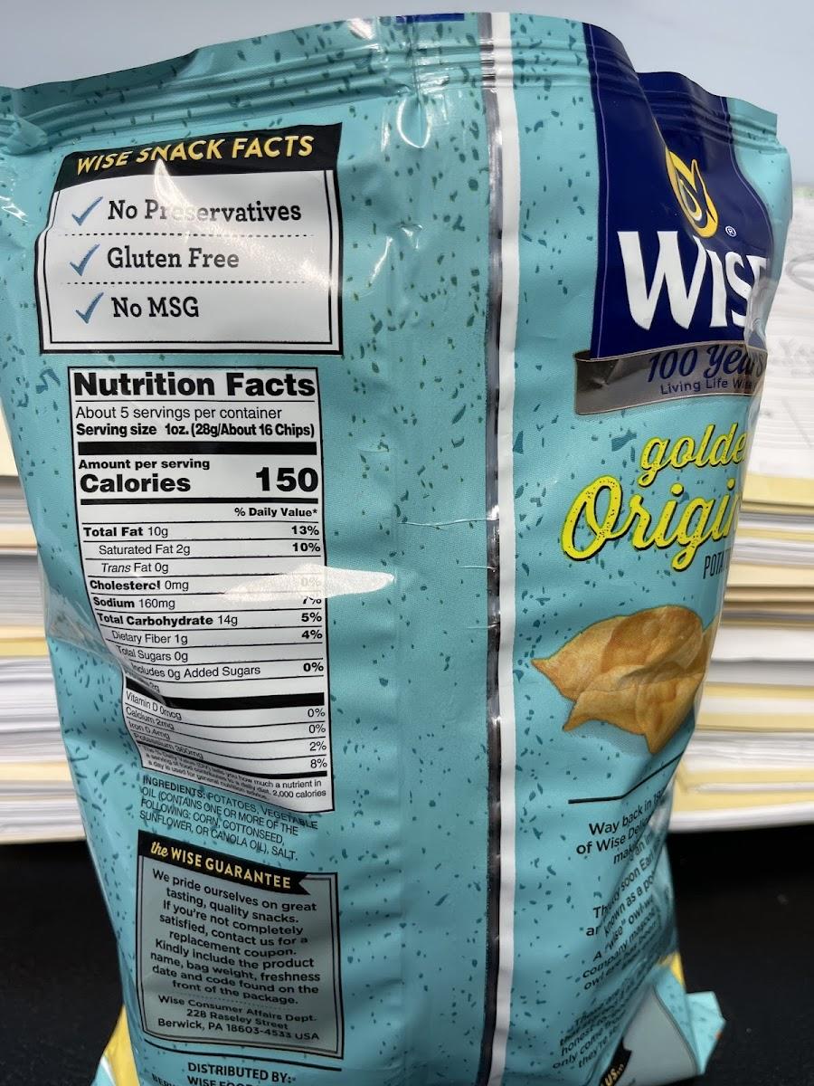 Golden original Potatoe Chips