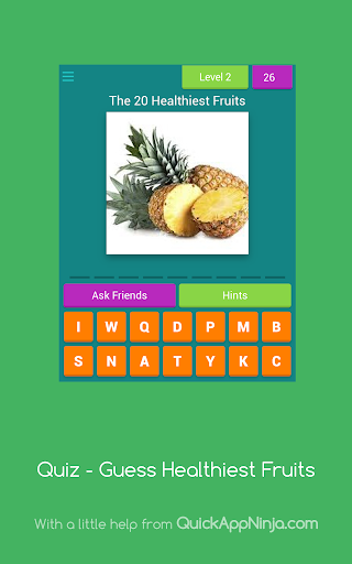 Quiz - Guess Healthiest Fruits  screenshots 9