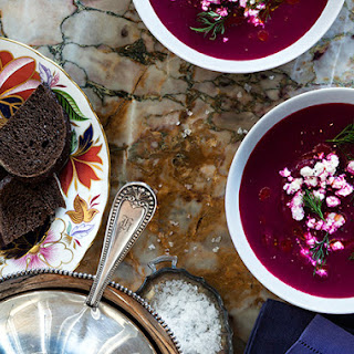 Beet & Apple Soup With Feta
