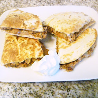 Beefy Quesadillas.