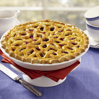 Apple-Cranberry Lattice Pie
