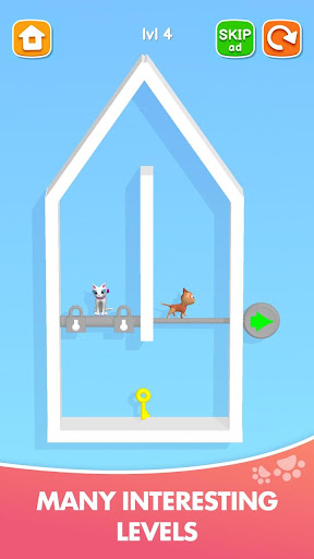 Kitten Rescue - Pin Pull apkpoly screenshots 5