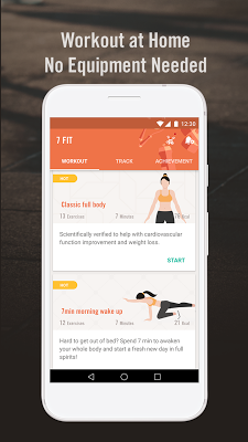 WeFit (formerly 7 FIT) - 7 Minute Workout - screenshot