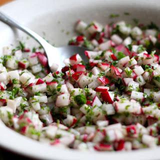 Spring Radish Salad