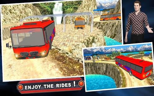 Terénní Autobus Simulátor 2017 Dobrodružství Jezde - náhled