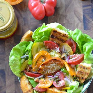 Panzanella Salad with Herb Vinaigrette