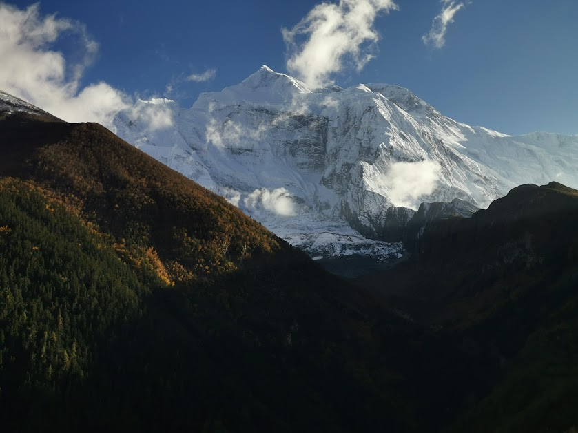 Nepal Day 2: Chame to Upper Pissang (North Route)- Oct 19