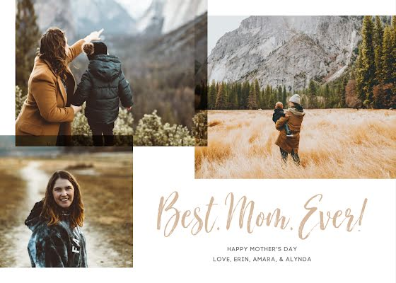 Best. Mom. Ever! - Mother's Day Card Template