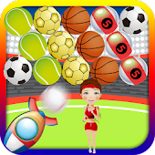 Sporty Bubble Shooter
