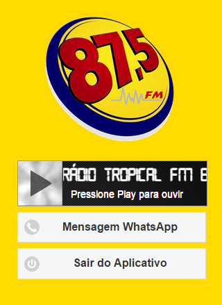 Tropical FM 87.5- screenshot