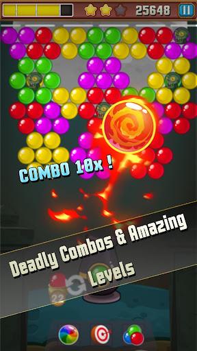 Bubble Shooter Puzzle: Bubble Zombie Match 3 1.0 screenshots 3