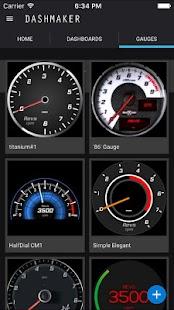 Download DashMaker (OBD 2 Car ELM App) For PC Windows and Mac apk screenshot 2