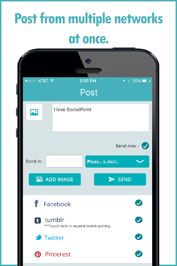 SocialPoint.me- screenshot