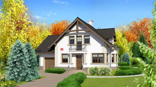 projekt Dom przy Przyjaznej 4
