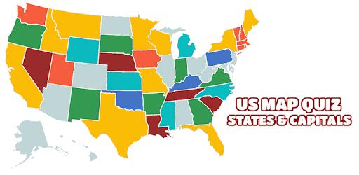 US Map Quiz - 50 States Quiz - US States Quiz - Apps on ...