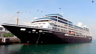 El Azamara Journey tiene capacidad para 1.100 personas.
