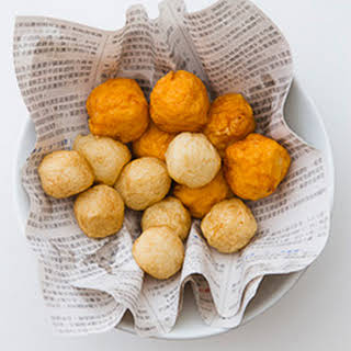 F is for Fish Balls and How to Make Sweet and Sour Sauce.