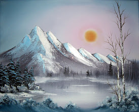 Photo: 1012 Winter Frost. Oil on canvas.