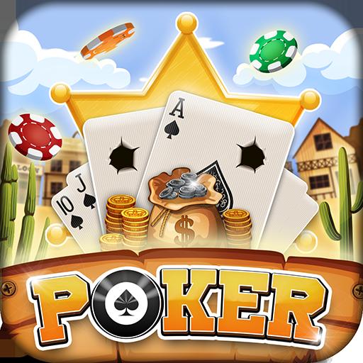 5 Card Draw Poker: Wild West Outlaw Showdown