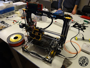 Photo: MILL HelloBEEPrusa 3D Printer