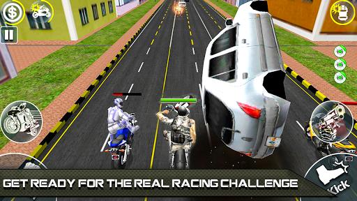 Bike Attack Race 2 - Shooting apk screenshot 10