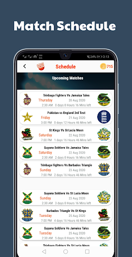 cricfl - cricket fantasy league screenshot 2