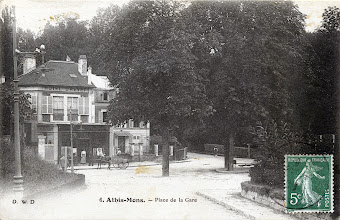 Photo: 6. Athis-Mons. — Place de la Gare