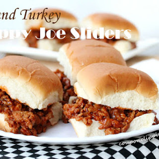 Ground Turkey Sloppy Joe Sliders