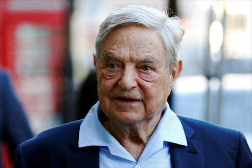 Business magnate George Soros. Picture: REUTERS/LUKE MACGREGOR