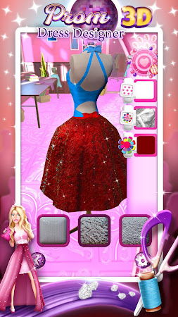 Prom Dress Designer 3D 2.0 screenshot 2088579