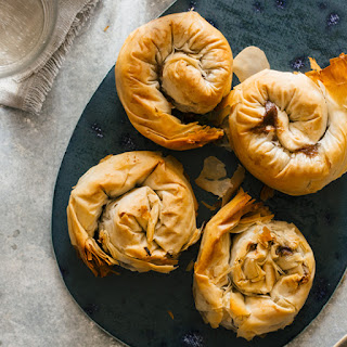 Filo Wrapped Steak and Stout Hand Pies.