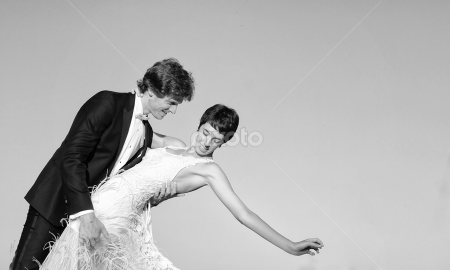 wedding french riviera by Ludovic Authier - Wedding Bride & Groom ( wedding french riviera )