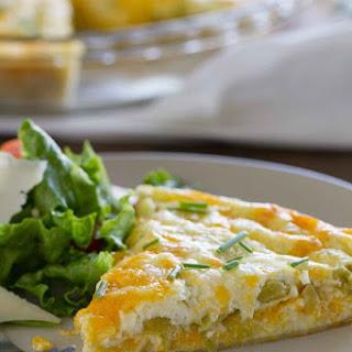Green Chile Tortilla Pie.