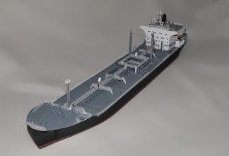 Photo: 560' Mobil Oil Tanker 1972-1993
