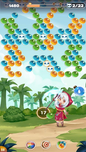 Bubble Shooter: Witch Story apkpoly screenshots 7